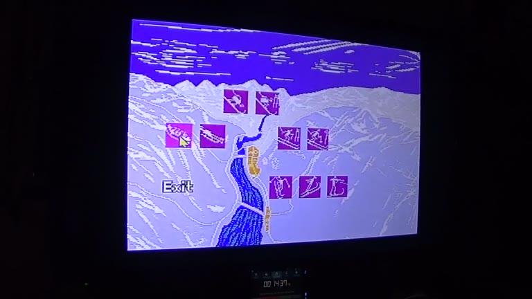 Sega Genesis / Sega Mega Drive - Olympic Winter Games: Lillehammer '94 - PAL - Bobsleigh - Fastest Completion - 58.22 - john brissie
