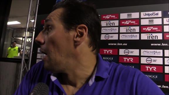 Pro Recco sconfitta in finale: il commento di Vujasinović