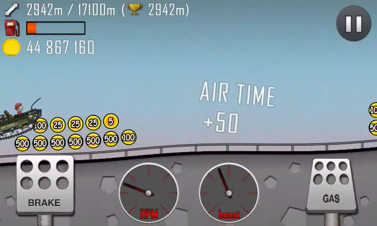 Android - Hill Climb Racing - Super Offroad - Cave [Distance] - 1,653 - Andrew Mee