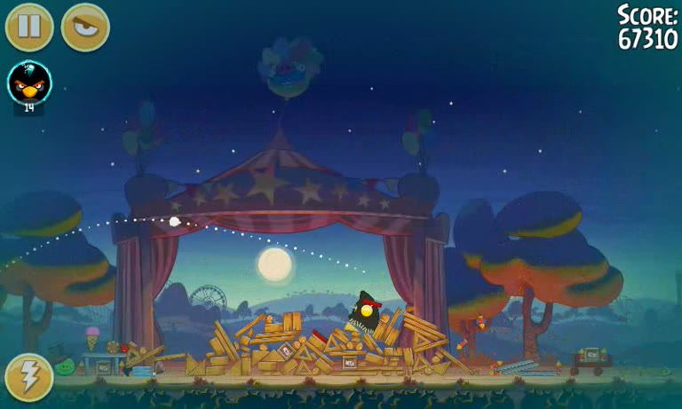 Android - Angry Birds Seasons - Pig Days - 2-5: Guy Fawkes Night - 146,960 - Andrew Mee