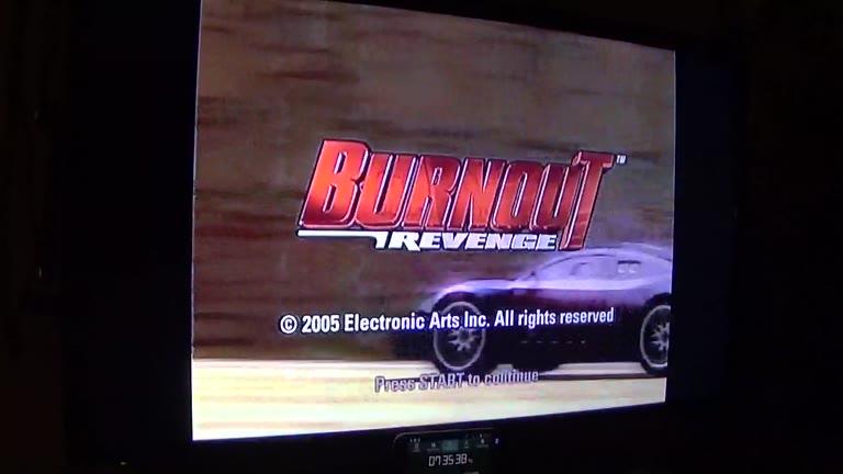 Xbox - Burnout Revenge - PAL - Road Rage - Rank 09 Assassin - Lone Peak Long - Forward [Takedowns] - 22 - john brissie