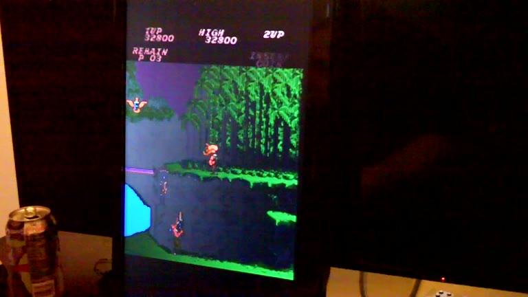 Arcade - Contra - Points - - 1,737,000 - Pete Hahn