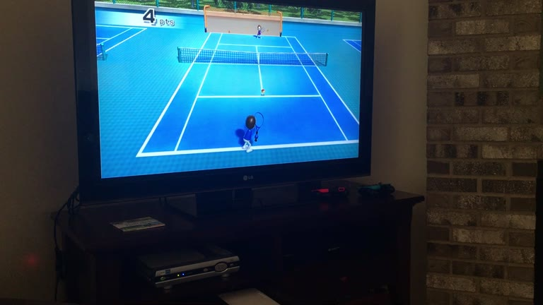 Nintendo Wii - Wii Sports - Training - Tennis - Timing Your Swing - 31 - Aiden Friedman