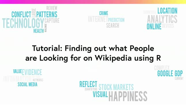 Finding out what people are looking for on Wikipedia using R