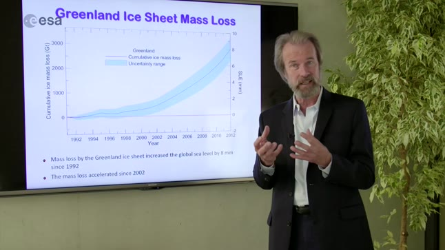 Ice Monitoring from Space - Introduction from Professor Konrad Steffen