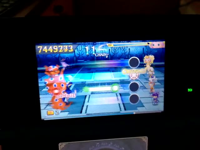 Nintendo 3DS - Theatrhythm Final Fantasy: Curtain Call - Music Stages - Final Fantasy IV - Battle with the Four Fiends - Expert Score - 9,999,999 - Rodrigo Lopes