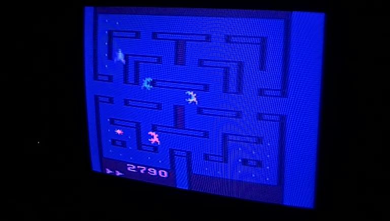 Atari 2600 / VCS - Alien - NTSC - Game 1, Difficulty B - 143,603 - Greg Degeneffe