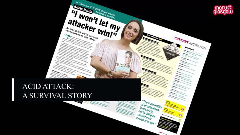 Acid Attack Survivor Story screenshot