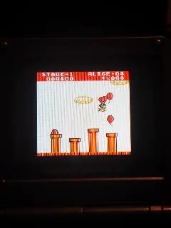 Game Boy / Game Boy Color - Balloon Kid - Single - Points - 128,000 - Dane Gill
