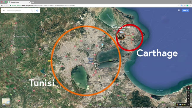 Case study: Carthage in Tunisia