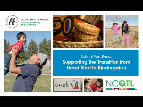 School Readiness: Supporting the Transition from Head Start to Kindergarten