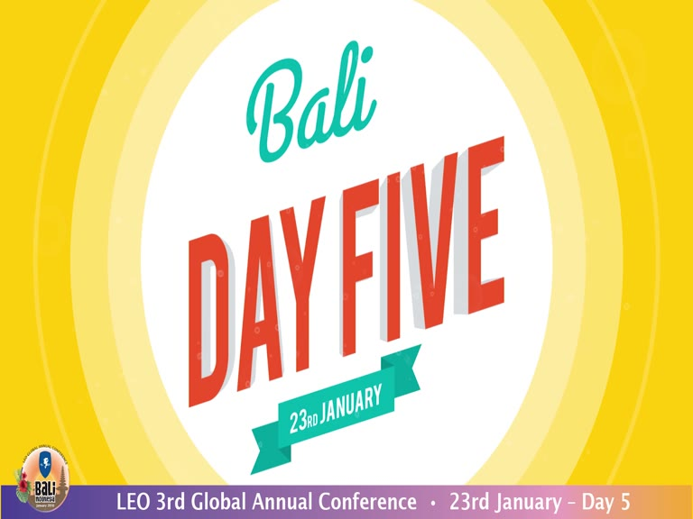 LEO Bali Global Annual Conference Day 5 2016