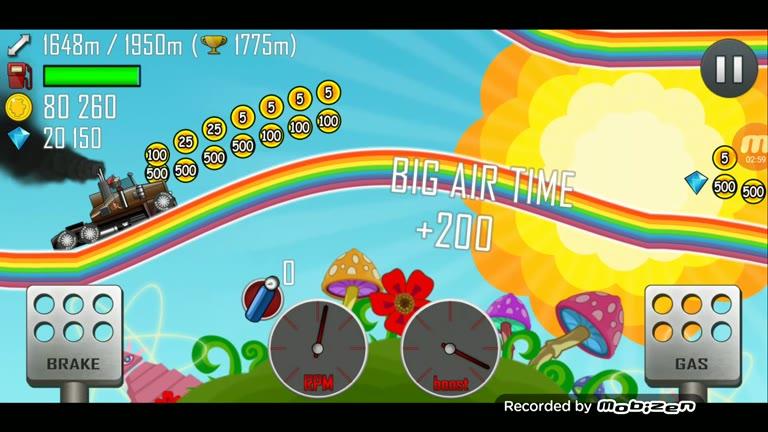 Android - Hill Climb Racing - Truck - Rainbow [Distance] - 2,337 - Charles Adams