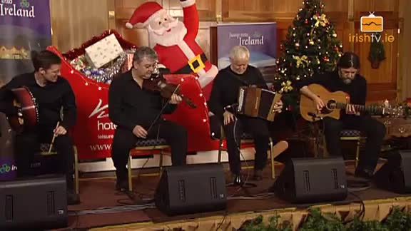 Christmas Special – Mairtin O'Connor, Jimmy Higgins, Cathal Hayden and Seamie O'Dowd