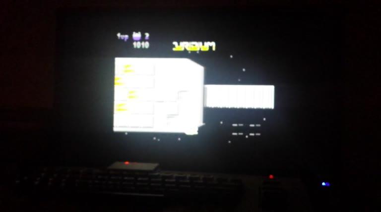 Commodore 64 - Uridium - PAL - Points - 128,090 - paul kearns