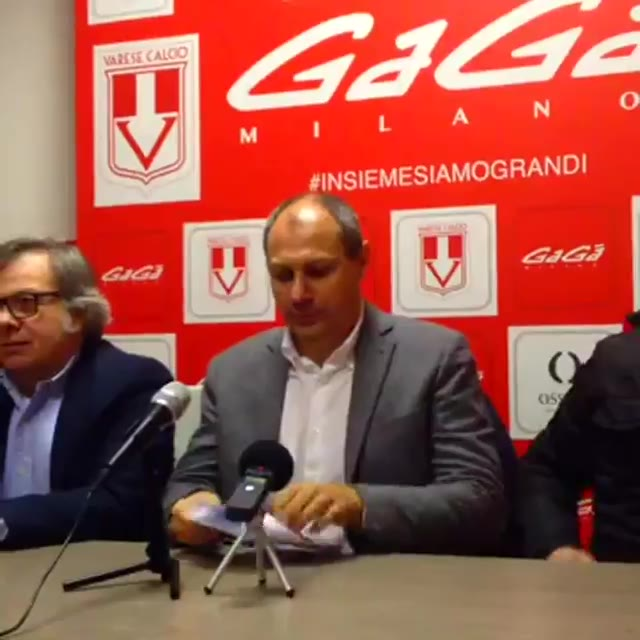 Video: Varese Calcio, Ciavarrella rilancia