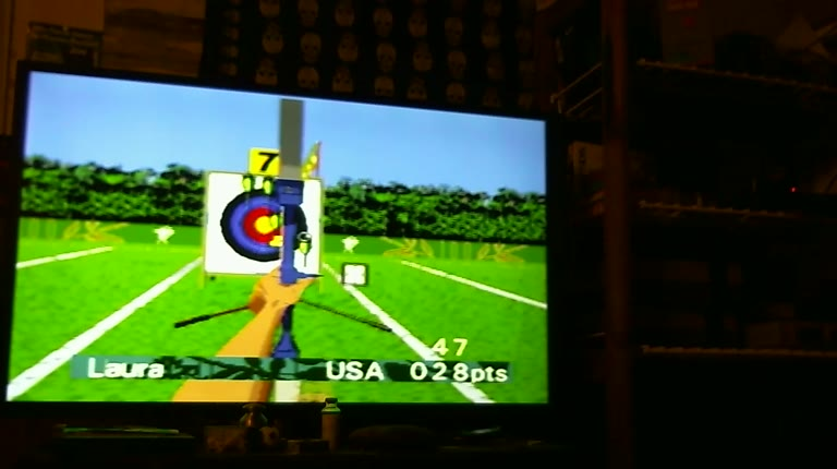 Sega Genesis / Sega Mega Drive - Olympic Summer Games Atlanta 96 - NTSC - Archery - Points - 53 - Roger 111