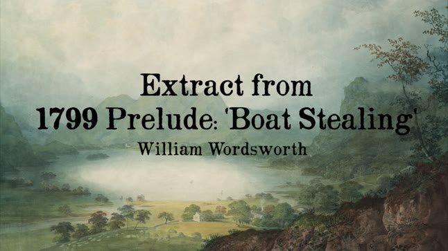 a close reading of william wordsworth s 10 the poems of william wordsworth  the aim throughout has been to present clean reading texts of wordsworth's poems in most cases the poet's and his earliest .