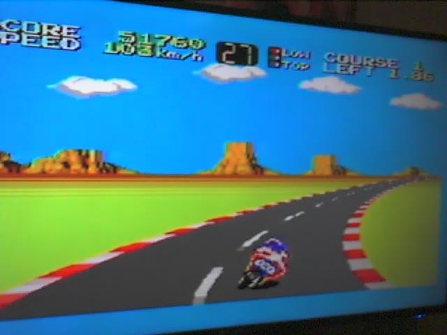 Sega Master System - Hang-On - NTSC - Points [Level 2] - 70,690 - Ryan Genno