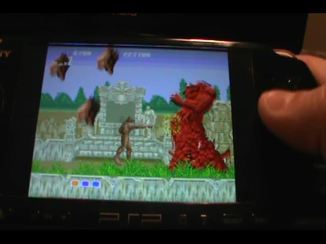 PlayStation Portable - Sega Genesis Collection - NTSC/PAL - Altered Beast [Points] - 449,100 - Ryan Sullivan