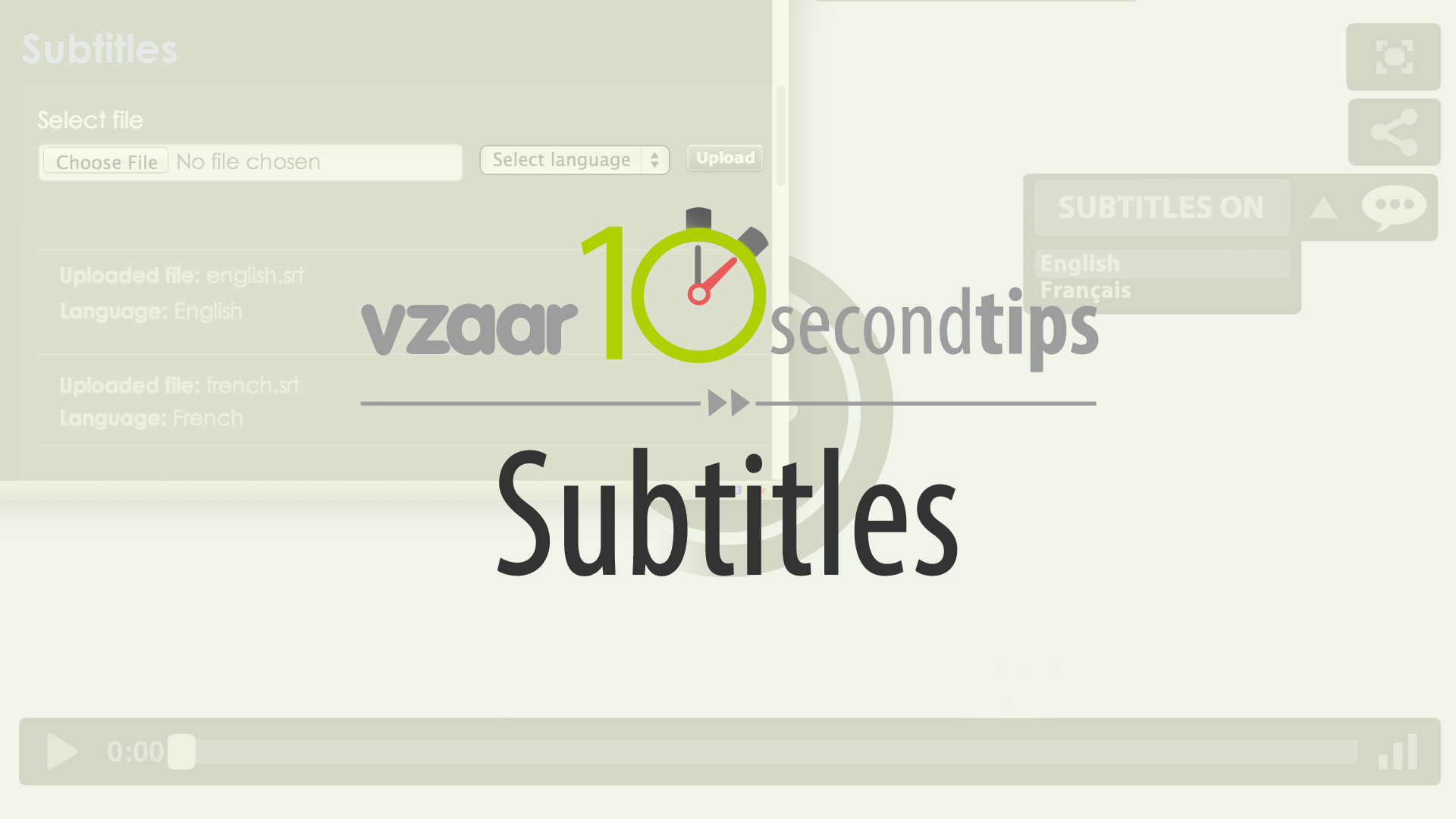 Video player with subtitles add subtitles to your video with vzaar prev next ccuart Images