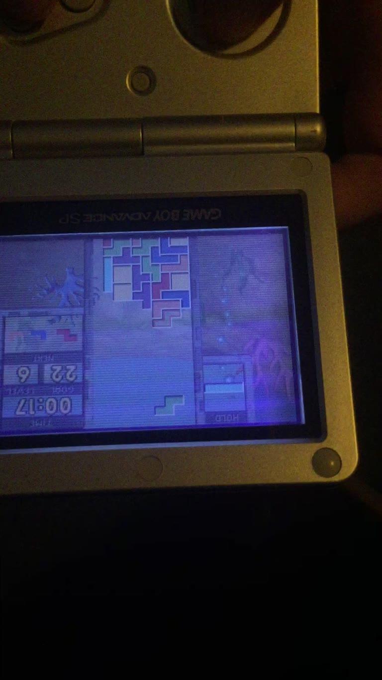 Game Boy Advance - Tetris Worlds - Marathon Mode]Tetris- Highest Level Cleared] - 15 - Nick Vis