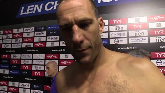 Pro Recco in semifinale: le parole di Vujasinović e Ivović