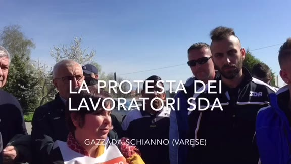 Video: La protesta alla SDA