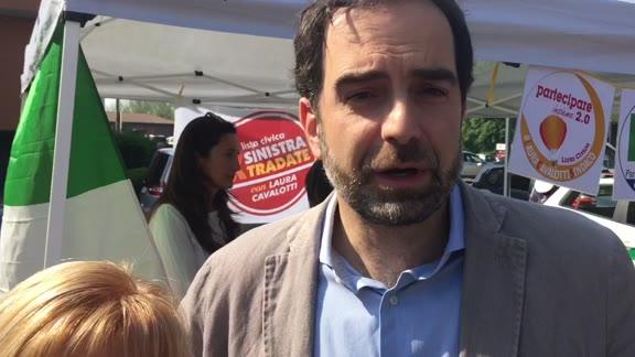 Video: Alfieri al mercato per il sindaco Cavalotti