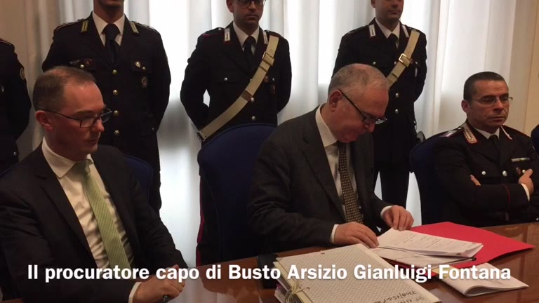 Video: Il sequestro della cartiera Vita Mayer