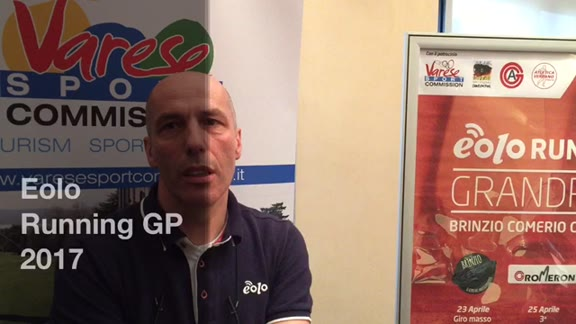 Video: La presentazione del 2° Eolo Running Grand Prix