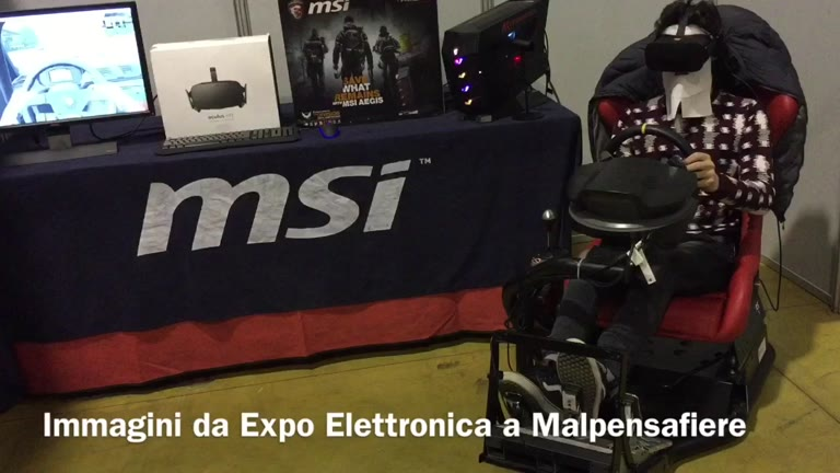 Video: Expo Elettronica a Malpensafiere