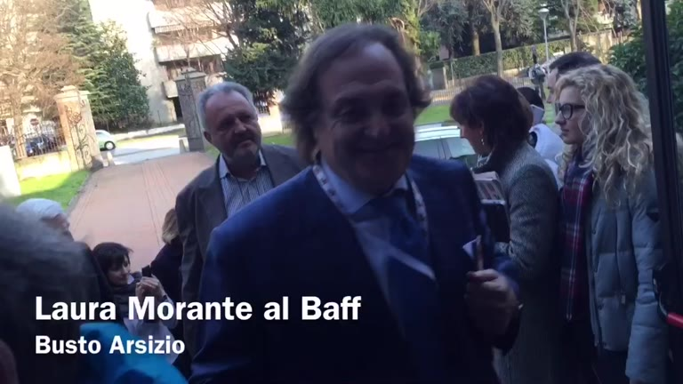 Video: Laura Morante al Baff