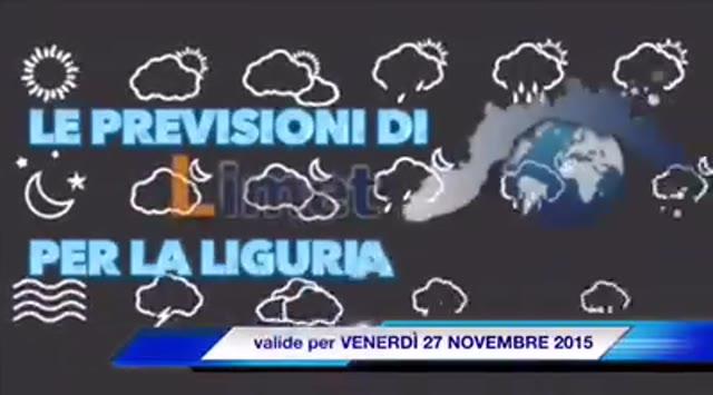 Video: Meteo Liguria, in arrivo l'alta pressione: il clima tornerà più mite