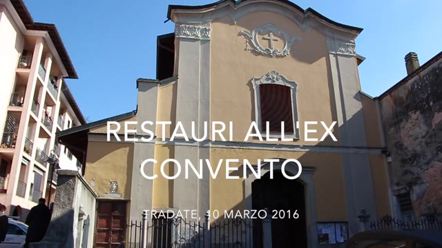 Video: I restauri all'ex Convento di Tradate