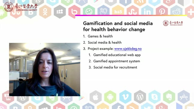 How gamification and social media can be used in healthcare