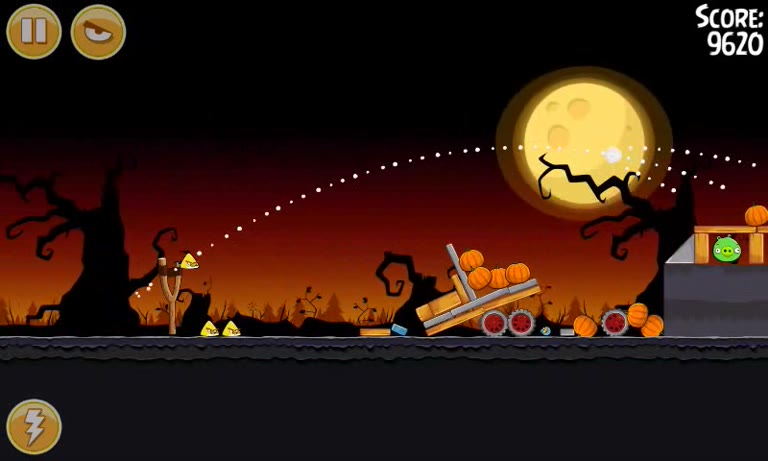 Android - Angry Birds Seasons - Trick or Treat - 3-6 - 100,980 - Andrew Mee