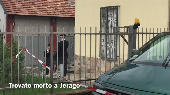 Video: Cadavere trovato in una casa di Jerago