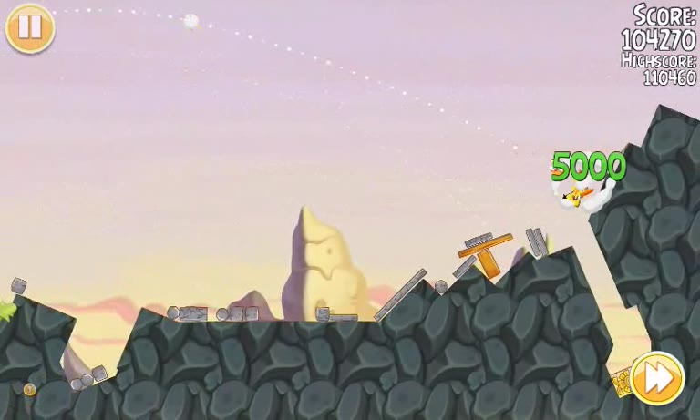 Android - Angry Birds Seasons - South Hamerica - 1-10 - 115,470 - Andrew Mee