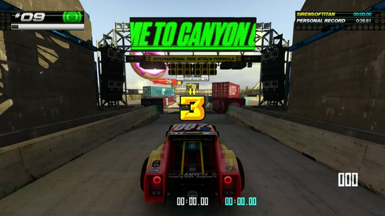 PlayStation 4 - Trackmania Turbo - White Series 09 - Fastest Time - 26.57 - Shaun Michaud