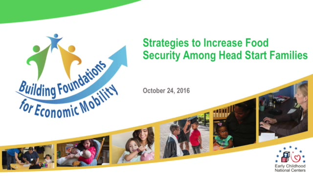 Strategies to Increase Food Security Among Head Start Families