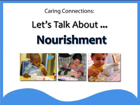 Let's Talk About Nourishment