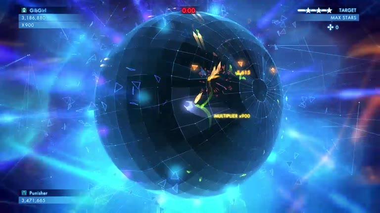 Xbox ONE - Geometry Wars 3: Dimensions Evolved - Single Player: Adventure - Level 2 - 3,249,010 - Angela Stefanski