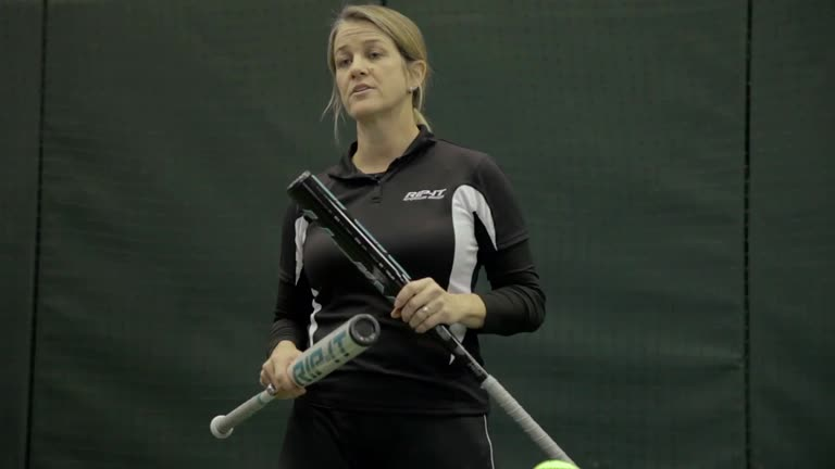 Softball Hitting Drill Presented by Carie Dever-Boaz  Video