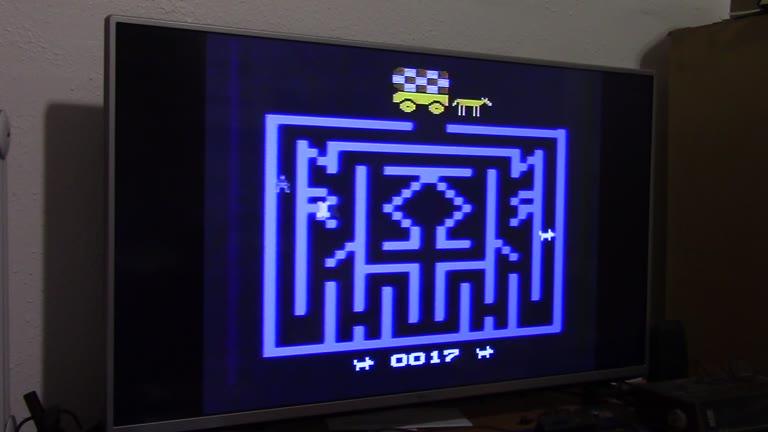 Atari 2600 / VCS - Chase The Chuckwagon - NTSC - Game 1, Difficulty B - 2,901 - John McAllister