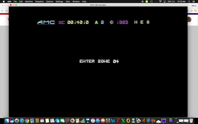 Commodore 64 - Attack of the Mutant Camels - EMU - Points - - 123,294 - Marco Sandoval
