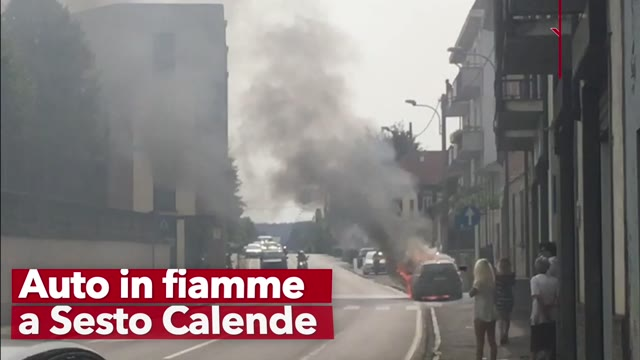 Video: Incendio in un'azienda di Marnate