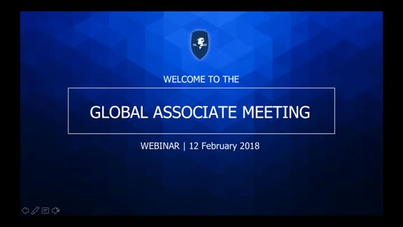 Global Associate Meeting 12 February 2018