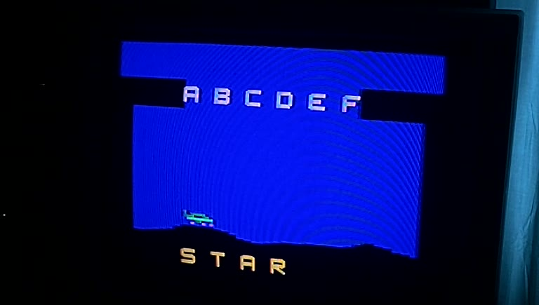 Atari 2600 / VCS - Word Zapper - NTSC - Game 1, Difficulty B [Most Time Remaining] - 59.0 - Greg Degeneffe