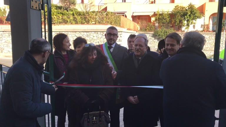 Inaugurazione della scuola dell'infanzia a Tovo San Giacomo